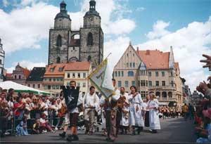 Festumzug Wittenberg 2000